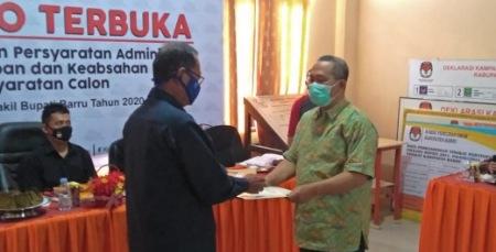 KPU Baru Beri Waktu 3 Hari Bagi Parpol Pengusung Suardi Saleh Ganti Calon Wakil