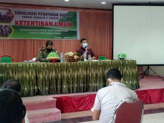 Ketua Komisi I DPRD Parepare Sosialisasikan Perda Ketertiban Umum