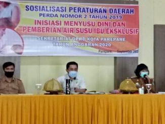Ketua Komisi II DPRD Parepare Sosialisasikan Perda IMD, Minta Instansi Sediakan Ruang Laktasi