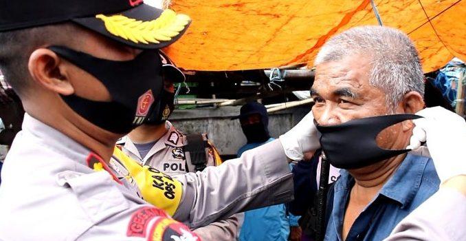 Tekan Penyebaran Covid, Polres Parepare Libatkan Sejumlah Elemen Kampanyekan Penggunaan Masker