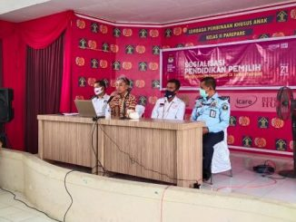 Sosialisasi Pendidikan Pemilih, KPU Parepare Kunjungi Warga Binaan Lapas