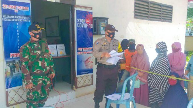 327 KK di Maccorawalie Terima Bantuan Kementerian, Terapkan Protokol Kesehatan Ketat saat Penyaluran