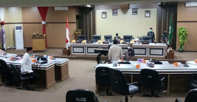 Rapat Paripurna Tidak Kuorum, DPRD Parepare Tunda Setujui Ranperda APBD-Perubahan 2020