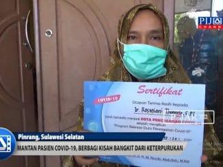 Video : Mantan Pasien Covid-19 Asal Pinrang ini Berbagi Kisah Bangkit Dari Keterpurukan