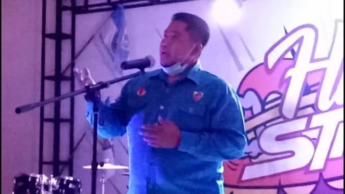 Orasi Ketua KNPI Parepare di Malam Puncak HSP, Serukan Pemuda Bangkitkan Ekonomi Daerah