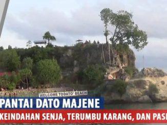 Video : Pesona Pantai Dato Majene yang Selalu Menawan