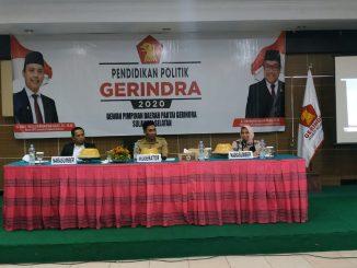 Buka Kegiatan Pendidikan Politik di Parepare, Sekretaris DPD Gerindra Sulsel Dorong Kader Raih Kemenangan di 2024