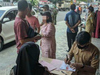 Razia Masker di Parepare, Puluhan Pelanggar Terjaring