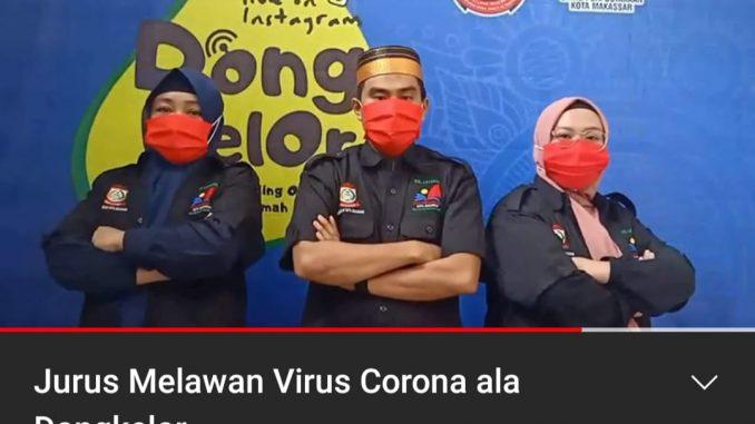 Tampilan salah satu video Dongkelor di Youtube