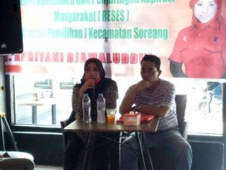 Legislator PDIP Parepare Apriyani Djamaluddin, Jaring Aspirasi Warga Soreang