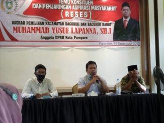Reses Yusuf Lapanna, Warga Bacukiki Curhat Soal Banjir Bacukiki