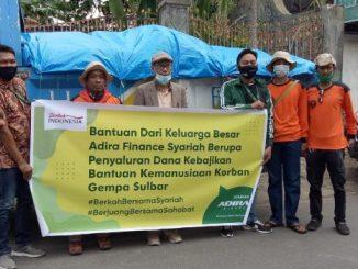 Adira Finance Syariah Percayakan MDMC Kota Parepare Salurkan Bantuan Korban Gempa Sulbar
