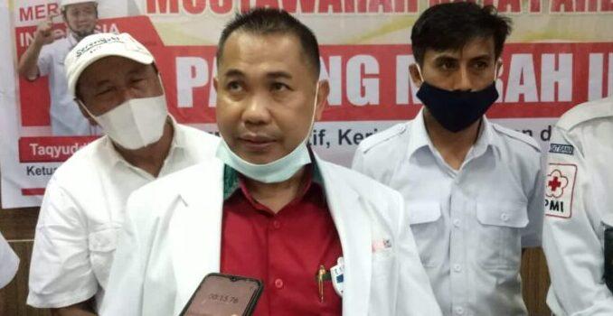 Muskot Ke-X Selesai, H Surianto Gantikan Taqyuddin Pimpin PMI Kota Parepare