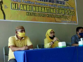 Temu Konstituen, Ketua DPRD Parepare Ajak Warga Tak Sungkan Sampaikan Aspirasi