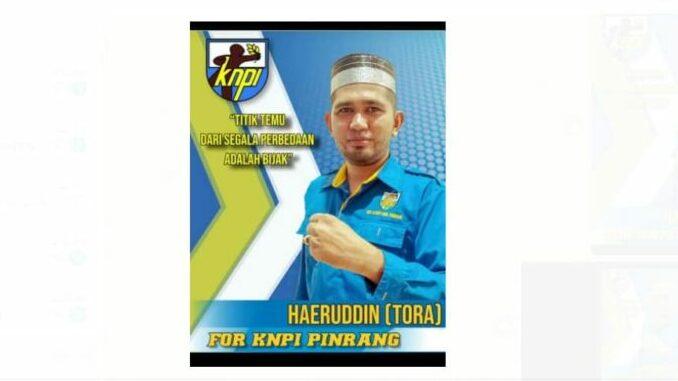 Kandidat Tunggal, Haeruddin Terpilih Aklamasi di Musda KNPI Pinrang