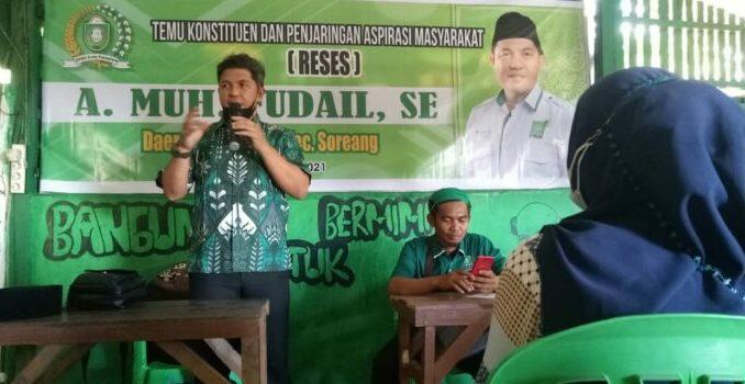 Legislator PKB Parepare : Aspirasi Warga Pasti Kami Perjuangkan Hingga Terealisasi