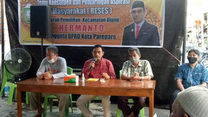 Legislator Hanura Parepare Jaring Aspirasi, Warga Minta Perbaikan Jalan Hingga Bedah Rumah