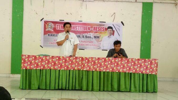 Ketua Komisi II DPRD Parepare Jaring Aspirasi, Warga Sampaikan 71 Titik Jalan Rusak